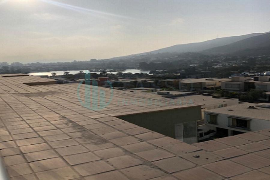 venta en la molina, urb. el mástil, av. la molina, edificio de 3 pisos, vista a la laguna, 3 dormitorios, baño incorporado, 2 cocheras