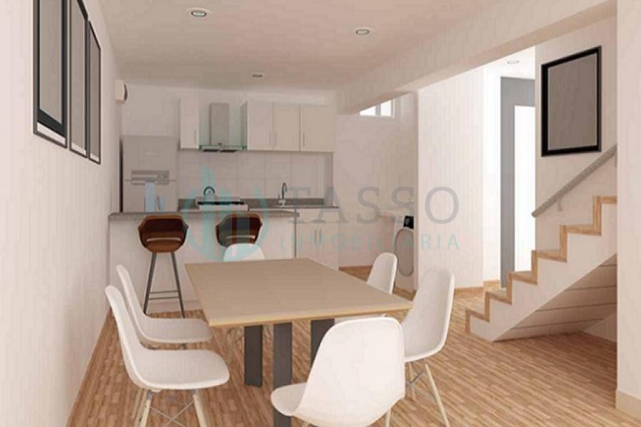 proyecto, agosto 2022, 4 dormitorios, baño incorporado, balcón, terraza, kitchenette, vista calle,  duplex, céntrico