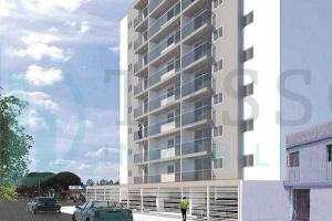 piso 6, Flat, Vista a calle, AC. 38.00 m2, Sala, comedor, balcón que da hasta el dormitorio principal, kitchenette, dormitorio con baño incorporado y closet, estreno, san miguel